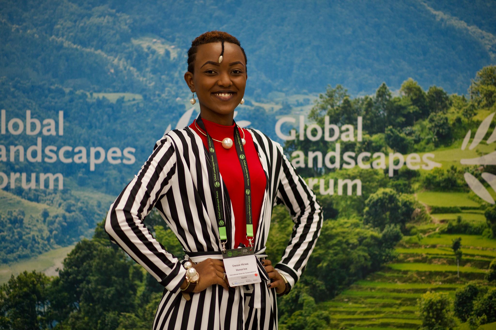 Giant steps for Youth in Landscapes delegates