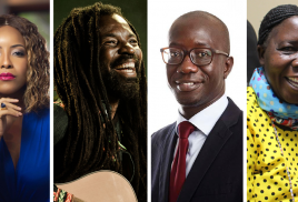 African royalty, celebrities and creative leaders join smallholder farmers, scientists and activists at GLF Accra 2019